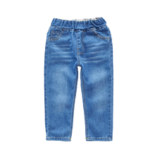 Hot sale classic trousers solid denim jeans <strong>pants</strong> <strong>boy</strong>