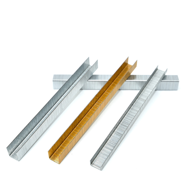 Manufacture direct supply best selling 1400 staples  industrial furniture nail heavy duty 1410 staples