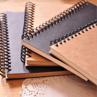 Office & School Supplies High Quality Cheap Exercise Note Books Diary Kraft Custom Wholesale Spiral Notebook Printing