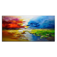 Handmade Painting & Calligraphy Oil painting Canvas Decoration Modern Wall Art