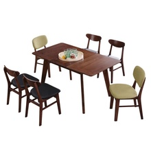 Modern space saving <strong>furniture</strong> dining room extendable wooden table for home