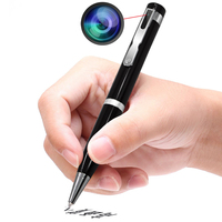 Detective nanny mini disguise pen with full hd camera rechargeable battery powered hidden camera