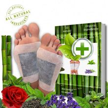 Wholesale Detoxify pads remove and adhesive <strong>x10</strong> patches 2in1 detox foot patch