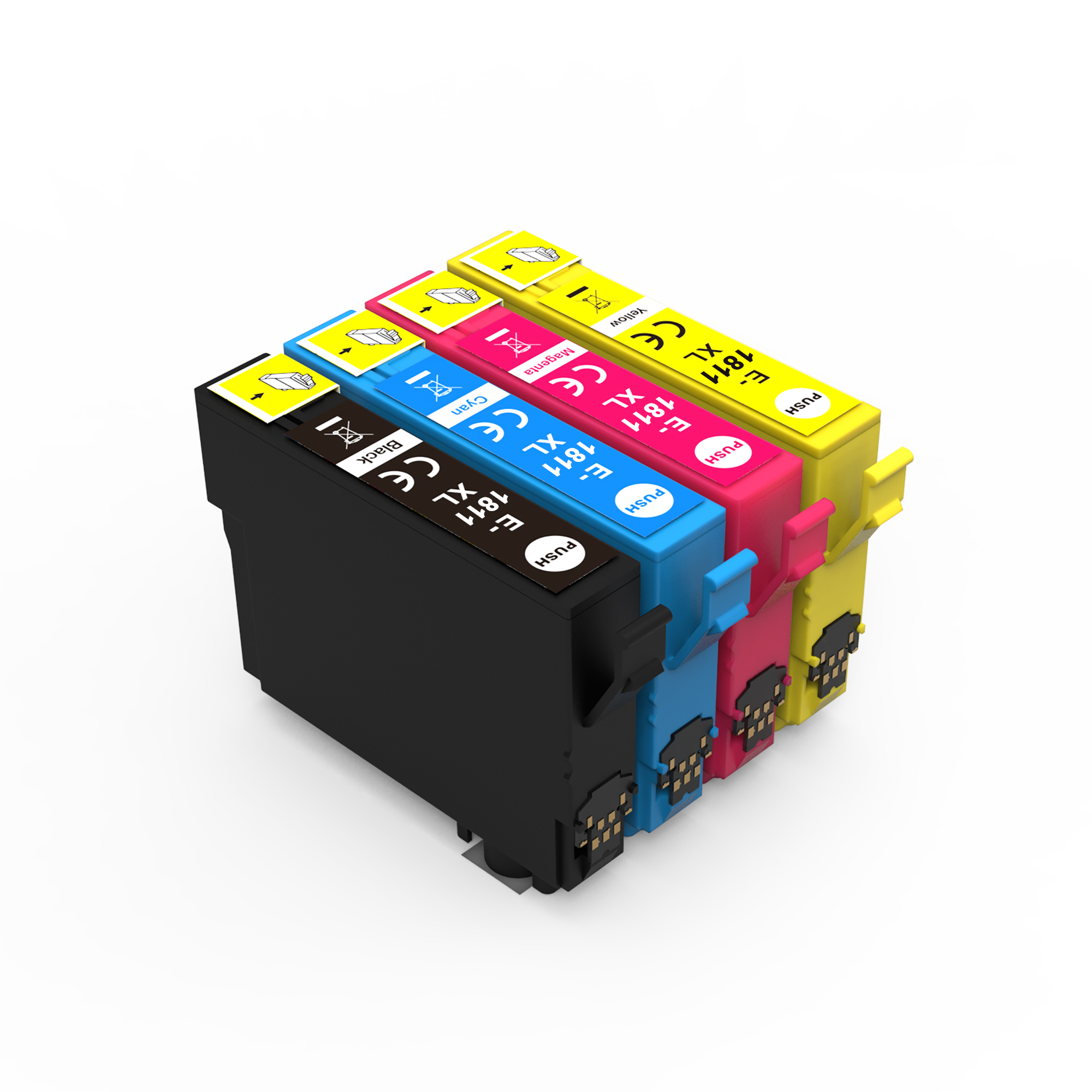 Compatible ink cartridge for T1811-T1814 united office wholesale use in XP-30 / <strong>102</strong> / 202 / 205