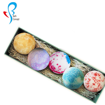 Wholesale custom Private Label mini natural Organic Shower Bath Bombs