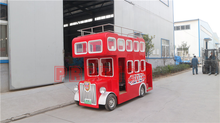 Wholesale price electric double decker sightseeing bus ride