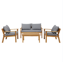 Outdoor <strong>Furniture</strong> Wooden 4 seater Coffee set