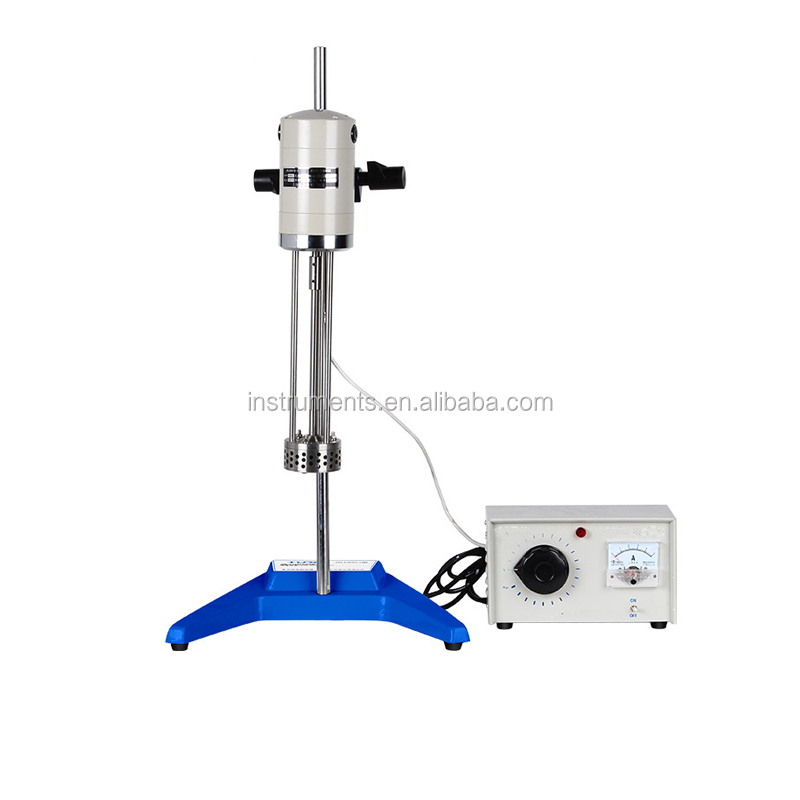 High-speed disperser laboratory shear emulsifier hand-held micro homogenizer machine