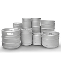 Hot Selling Large Germany Draft Barrel Container Beer Keg 50L