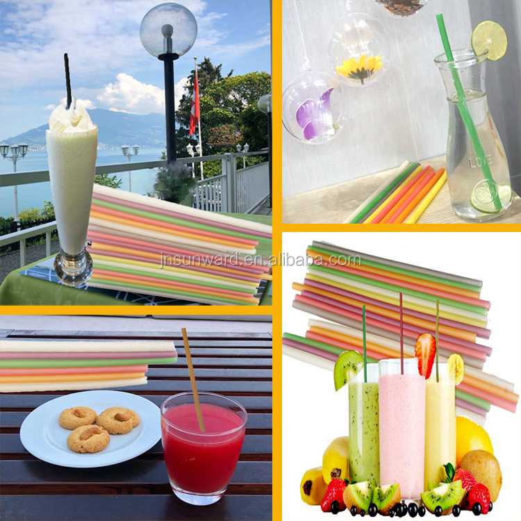 Eco-friendly Juice Bio-degradable Drinking Straw Maker Producer Processor Machinery