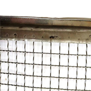 Stainless steel 304 304l 316 316L crimped wire mesh for factory