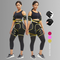 Compression Neoprene Waist Trainer Thigh Eraser Butt Lifter shaper Fat Burning Womens High Waist Tummy Control Thigh Shaper