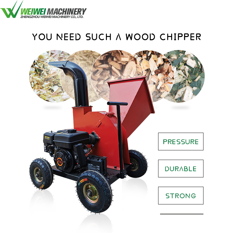Weiwei machine chipper for branches
