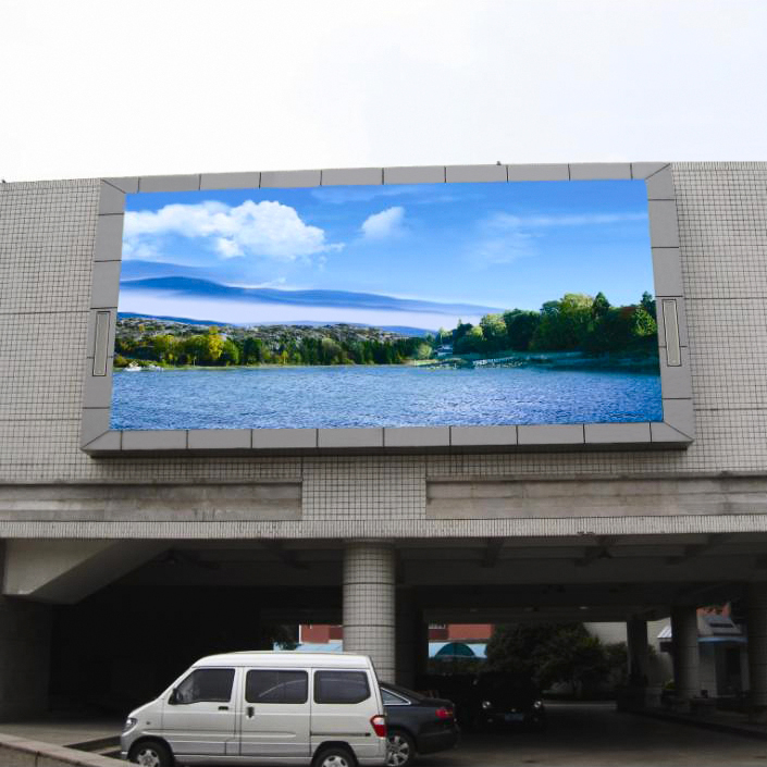 <strong>P</strong> <strong>10</strong> outdoor full-color led display screen Outdoor Usage advertising led video wall