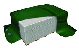 Surface Painted Wood Grain Fiber Cement Siding With CE certification