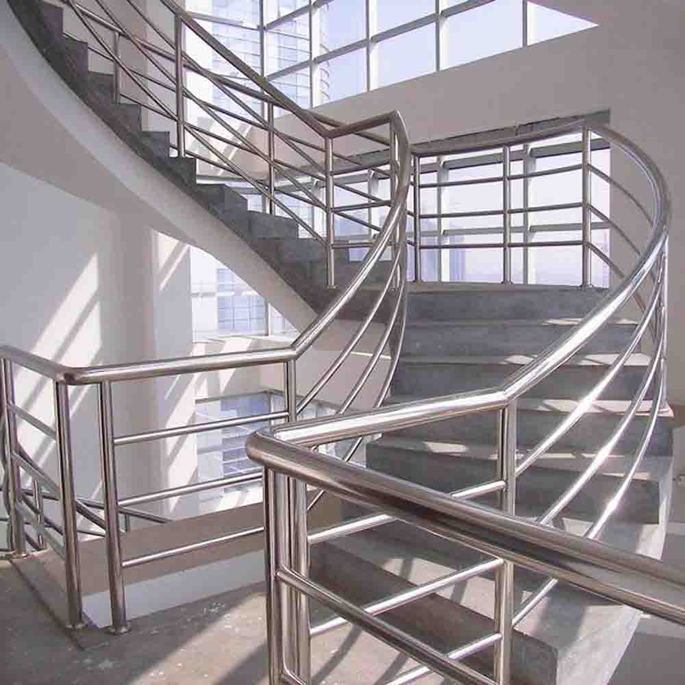 stainless steel handrail for staircase railing house