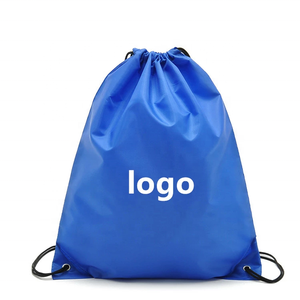 210d Polyester Fabric Drawstring Backpack Bag with Custom Logo