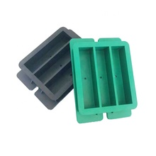 Factory directly supply 40x40x160mm Three Gang Plastic Prism <strong>Mould</strong> For Cement Mortars