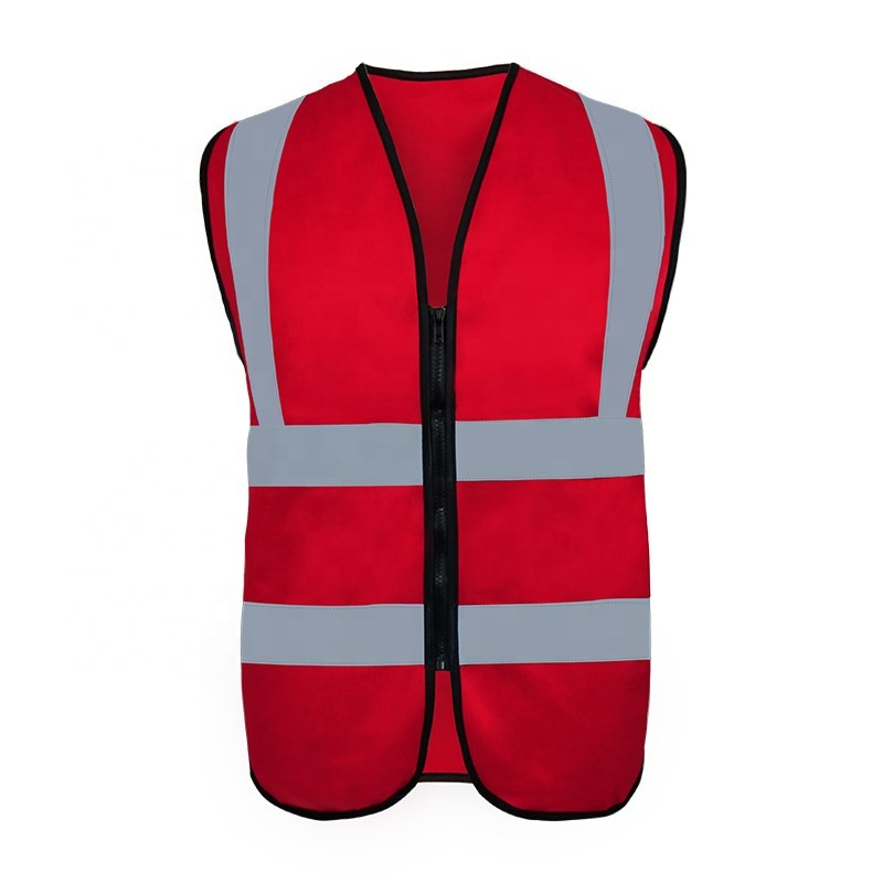 Customizable road Warning belt <strong>safety</strong> No pocket Reflective knit vest reflective high visibility <strong>safety</strong> vest