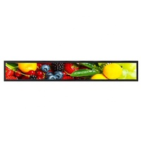 Wholesale Stretched Bar Type Shelf Edge Lcd Display for Retail Store
