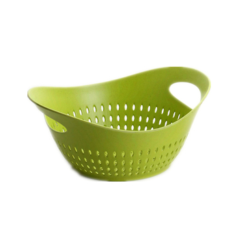Colorful Large bowl food tray healthy and safe bamboo fruit basket
