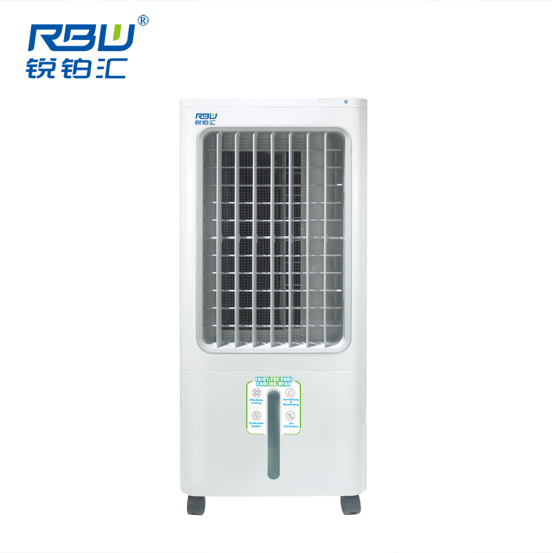 Household Floor Standing Portable Water Evaporative Air Cooler For <strong>AC</strong> And DC Power Application Portable Air Cooler