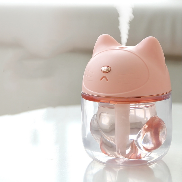 Cute <strong>Mini</strong> 150ML Cat Claw Cup Air Humidifier Nano Spray Night Lights USB Desktop Intelligent Power Off Aromatherapy Humidifier