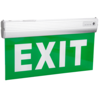 Aluminum Equipped With Acrylic Panel Fire Safety LED Emergency Exit Sign Light