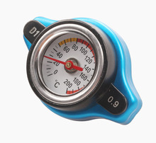 Car Refit Water Tank Cover with Gauge to Measure Temperature universal Pressure cover water tank cover