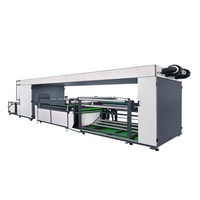 Single Color Roll to Roll Automatic Screen Printing Machine, High Quality Non Woven Screen Printer