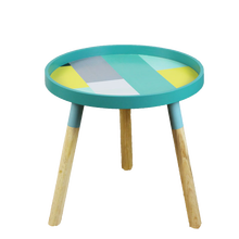 Wooden Round Simple Modern with 3 legs Nordic Design Coffee <strong>Table</strong> with Round Edge