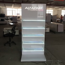 Makeup Shop Display Stand Equipment Cosmetic Store Racks <strong>Shelf</strong> for Beauty Salon