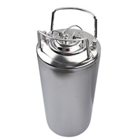Stainless Steel Brew Bar Accessories Ball Lock Cornelius Beer Soda Barrel Keg 12L / 3Gallon Lid & Pressure Relief Valve