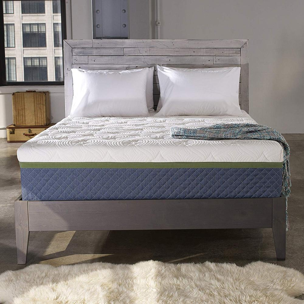 gel memory foam mattress customized Bedroom Furniture bedding manufacturer roll in carton - Jozy Mattress   Jozy.net