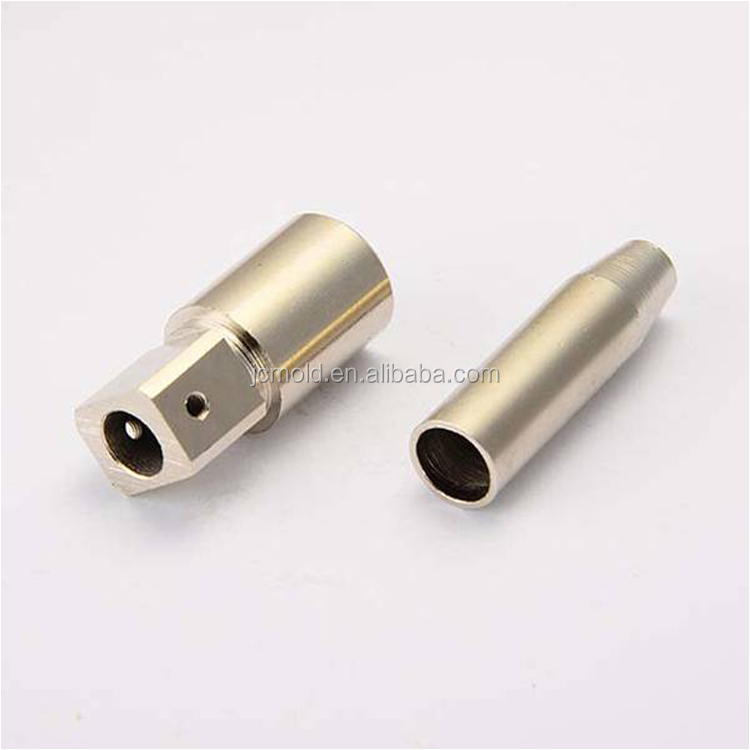 CNC machining milling parts with Clear anodized