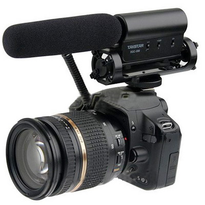 SGC-598 Condenser Recording Microphones Professional Photography Interview Dedicated Microphones for DSLR & DV Camcorder