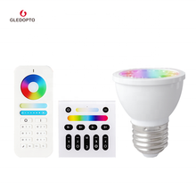 E27 spotlight 9 color changing mode controlled by wireless remote controller mini <strong>projector</strong> lights
