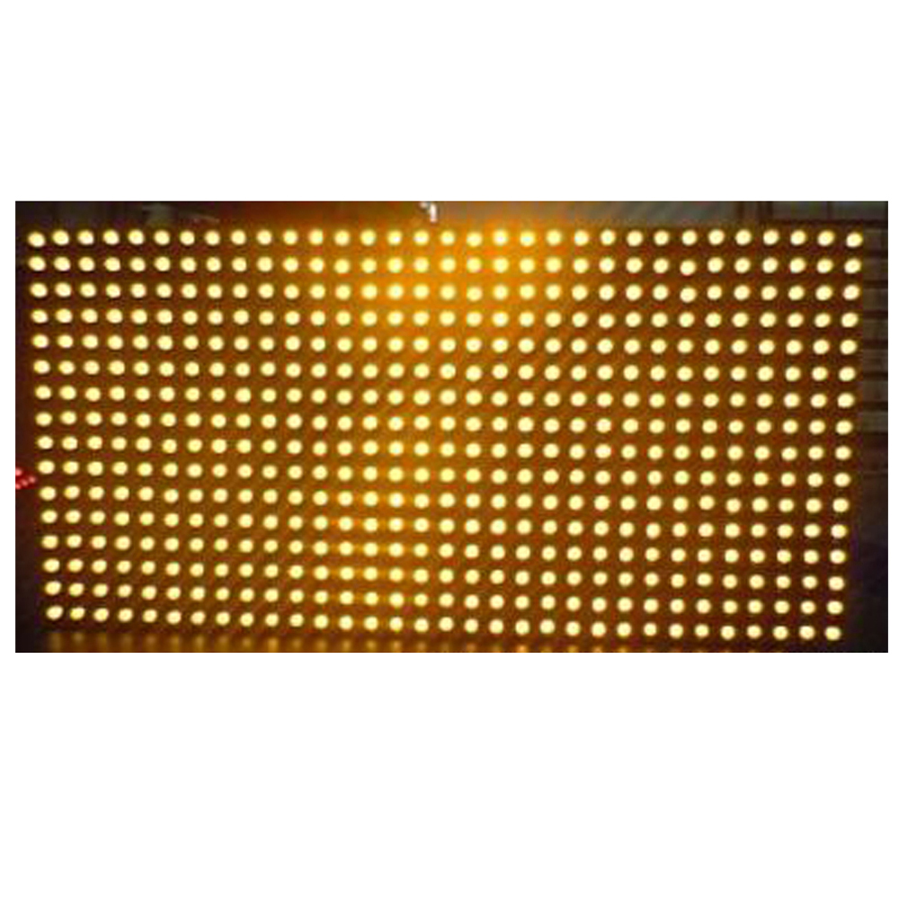 <strong>p10</strong> dip single yellow outdoor led module