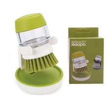 New Automatic Dosing Soap Liquid Cleaning Dishwashing Pot Tableware <strong>Brush</strong>