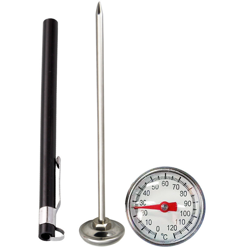 <strong>0</strong> to 120C or <strong>0</strong> to 220F 5&quot; Analog Portable Cooking Pen Type Mini Pocket Clip Thermometer