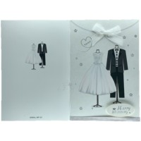New custom made wedding handmade greeting cards, wedding cards