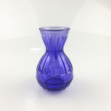 wholesale colourful hyacinth flower <strong>glass</strong> vase centerpiece