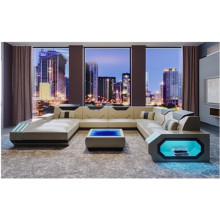 China <strong>modern</strong> big sofa designs/leather sofa set living room furniture