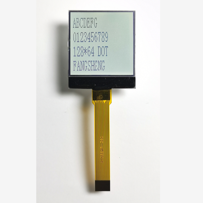 Custom Lcd Dot Matrix FSTN Lcm Display Module <strong>128</strong> x 64 Pixels Graphic COG LCD Module
