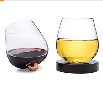 14 oz No Spill Aerating Glass for Wine & Spirits