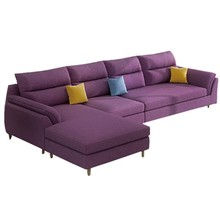 Fabric Couch Living Room Sectional Sofa 3 Seat <strong>Furniture</strong>