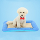 Pet cooling good elasticity anti-slip soft dirt pet travel mat