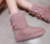 Wholesale new 2019 winter sheep fur-lined rubber soles, comfortable warm women's snow boots