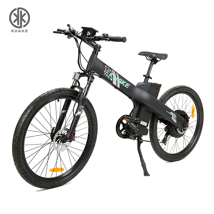 Kuake hot selling 48v <strong>1000</strong> <strong>w</strong> 26 inch 7 speed enduro ebike full suspension velo electrique 1000w