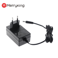 CE GS listed 100-240v ac dc power adapter 24v 1a dc power supply 24watts wall mount adaptor
